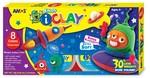 Amos I-Clay Oyun Hamuru 18Gr 8 Renk
