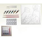 Ceo Art 40x40 Desenli Tuval Seti 1044 (Ceo00008)