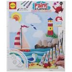 Alex Paint A Canvas- Sailboat 363S