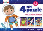 4 Mini Puzzle - Uzay Macerası
