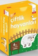 Bebek Yapboz Çiftlik Hayvanlari (Kutulu) 1-2 Yas Mika-2000058