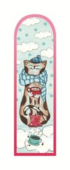 G.Alfa Kahve Zamanı - Kedi Konsepti Ayraç