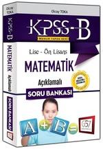 2016 KPSS-B Lise Ön Lisans Matematik Açıklamalı Soru Bankası