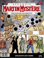Martin Mystere Sayı 171 - Şarlman'ın Uzay Gemisi