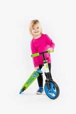 Scoot And Ride Scooter Highwaybuddy Blu/Green (234348) Sctrdesct003