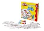 Play-Doh Puzzle Küp 6 Mini Keçeli Jumbo Kalemli Play-YB001