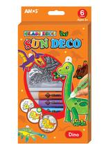 Amos Sun Deco Cam Boyama Seti Dinozorlar
