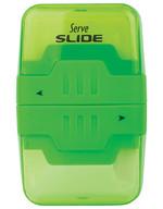 Serve Slide Kalemtraşlı Silgi Yeşil Tekli