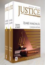 Justice - İdari Hakimlik Çalışma Kitabı - 2 Kitap Takım