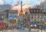 Anatolian Puzzle 3000 Parça Paris Sokakları 4910