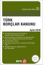 Türk Borçlar Kanunu 2018