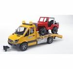 Bruder-MB Sprinter Transporter  02535