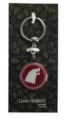 Game of Thrones Stark Tekli Anahtarlık Bordo
