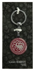 Game of Thrones Targaryen Tekli Anahtarlık Bordo