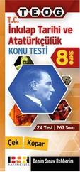 8. Sınıf T.C. İnkılap Tarihi ve Atatürkçülük Konu Testi