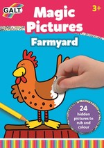 Galt Magic Pictures Farmyard 3 Yaş+
