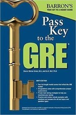 Pass Key to the GRE, 9th Edition (Barron's Pass Key to the Gre)