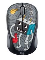 Logitech M238 Doodle Koleksiyon  Kablosuz Mouse - Lighbulb