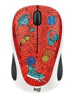 Logitech M238 Doodle Koleksiyon Kablosuz Mouse -  Champion Coral