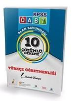 KPSS ÖABT Türkçe Öğretmenliği 10 Çözümlü Deneme