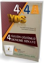 4x4 YDS 4 Özgün Çözümlü Deneme
