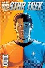Star Trek Sayı 1 Kapak B-Çizgi Roman Dergisi
