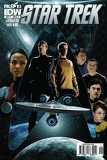 Star Trek Sayı 1 Kapak A-Çizgi Roman Dergisi
