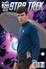 Star Trek Sayı 2 Kapak B-Çizgi Roman Dergisi