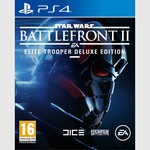 PS4 STAR WARS BATTLEFRONT II DELUXE