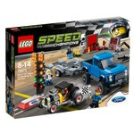 LEGO - Speed Champions Ford F-150 Raptor & Ford Model A Hot Rod