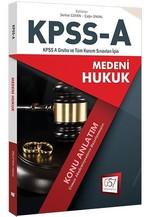 KPSS-A Medeni Hukuk Konu Anlatım