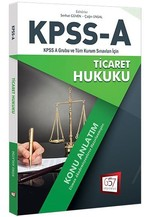 KPSS-A Ticaret Hukuku Konu Anlatım