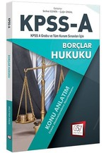 KPSS-A Borçlar Hukuku Konu Anlatım