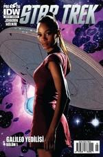 Star Trek Sayı 3 Kapak B-Çizgi Roman Dergisi