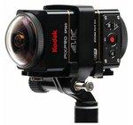 Kodak Pixpro 4K-Dual Pro Pack 360°Vr Aksiyon Kamera Wi-Fi& Uzaktan Kumanda 4K