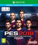 XBOX ONE PES 2018 LEGENDARY EDITION