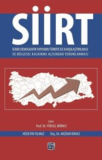 Siirt İlinin Demografik Yapısının Türkiye İle Karşılaştırılması ve Bölgesel Kalkınma Açısından Yorum