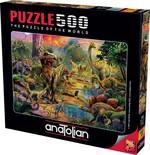Anatolian Dinozor Krallığı 500 Parça Puzzle (3603)