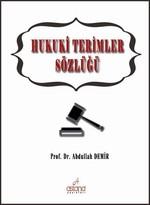 Hukuki Terimler Sözlüğü