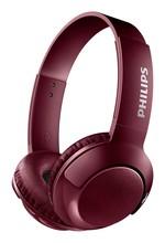 Philips BASS+ Mik.Kafabantlı Bluetooth Kulaklık SHB3075RD