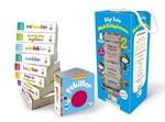 İngilizce Destekli Bilgi Dolu Minik Kütüphanem-9 Kitap Mavi Kutu