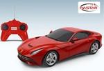 Rastar-Ferrari F12 Berlinetta Uzaktan Kumandalı Araba 1:24 / Kırmızı W/481