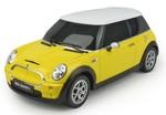 Rastar-Mini Cooper S Uzaktan Kumandalı Araba 1:24 / Sarı
