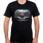 Batman v Superman  T-Shirt Siyah Erkek