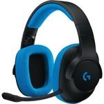 Logitech G233 Prodigy Wired Gaming Headset - BLACK/CYAN