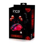 Inca Img-319 8D +4800 Dpı+7 Color Led Usb Gamıng Mouse + Mousepad
