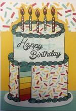 Hallmark Kart Happy Birthday Pastalı HK1 1375