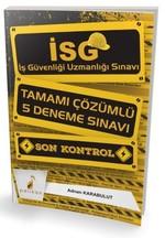 İSG İş Güvenliği Uzmanlığı Sınavı-Tamamı Çözümlü 5 Deneme Sınavı