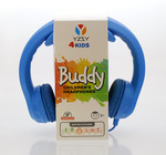 YZSY 1079 4Kids Buddy Çocuk Kulaküstü Kulaklık Mavi