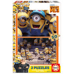Educa  Minions 3 2x50 Puzzle 17232